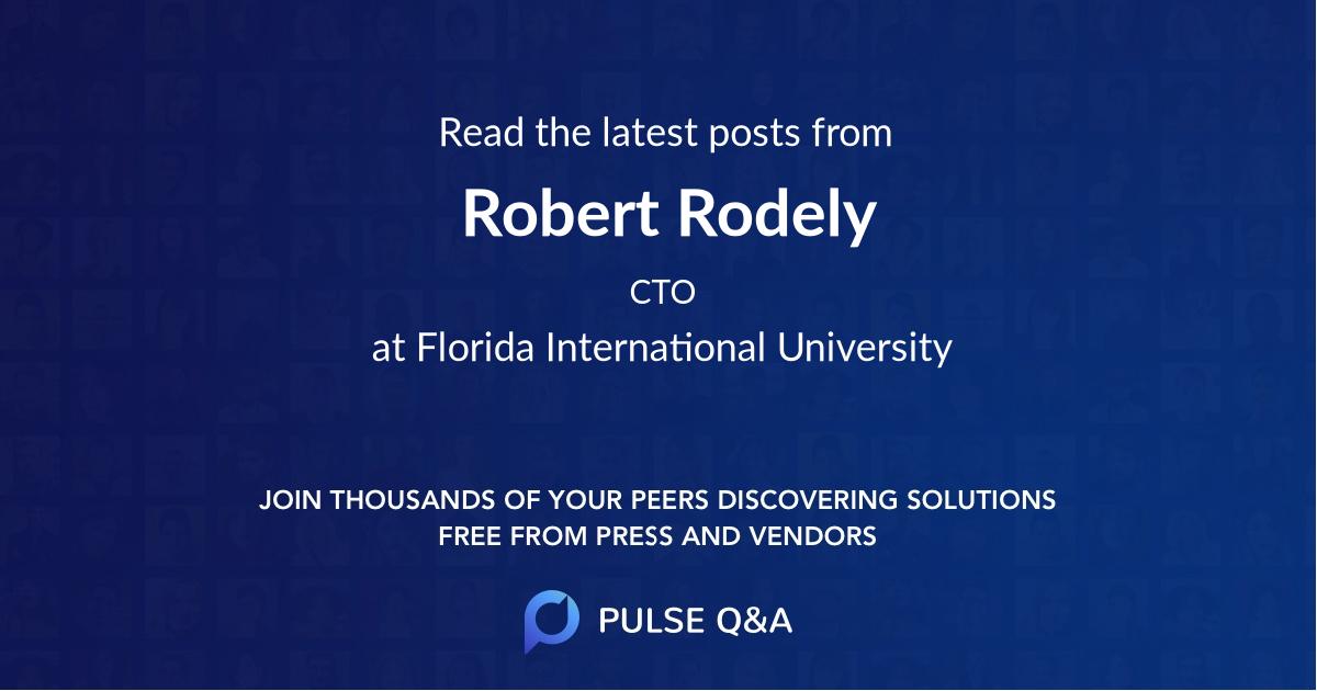 Robert Rodely