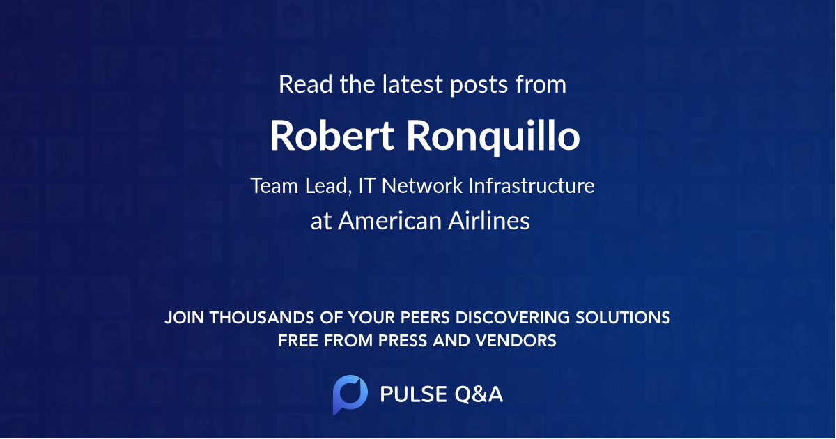 Robert Ronquillo