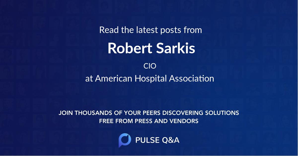 Robert Sarkis