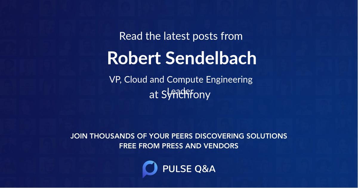 Robert Sendelbach