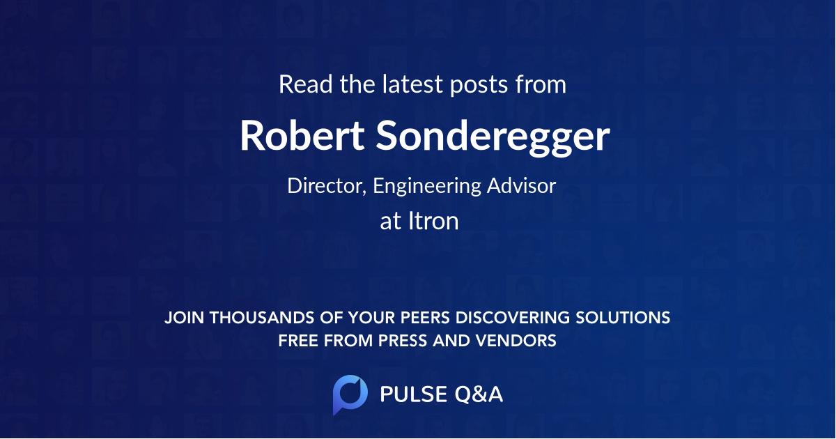 Robert Sonderegger