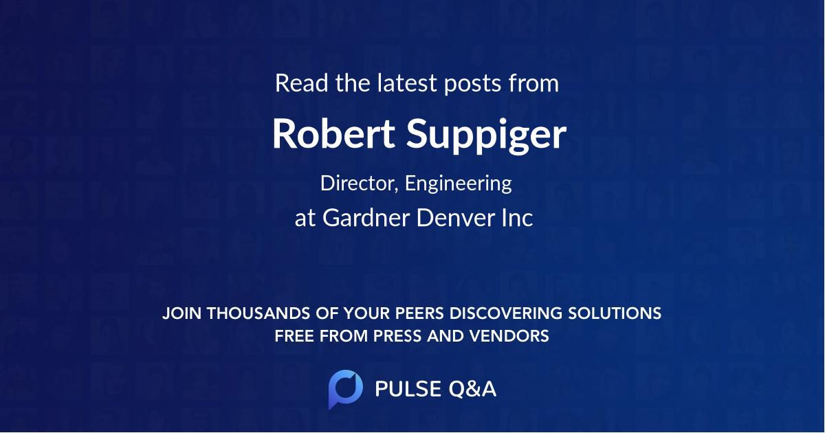 Robert Suppiger