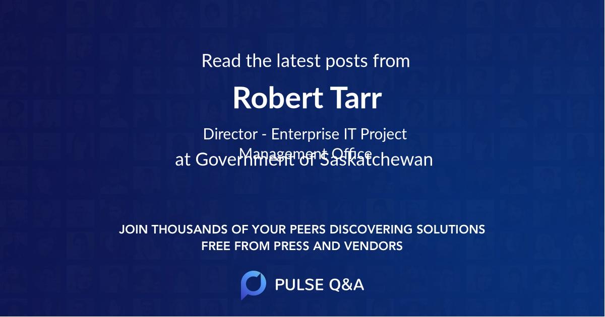 Robert Tarr