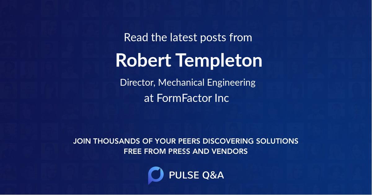 Robert Templeton
