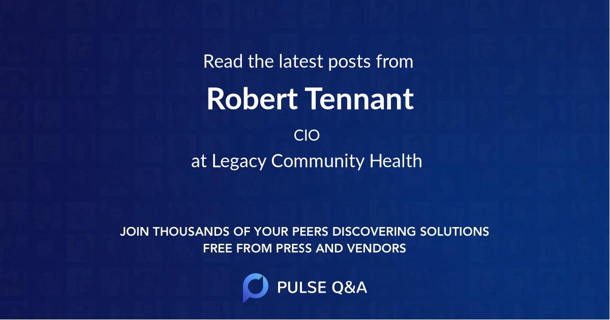 Robert Tennant