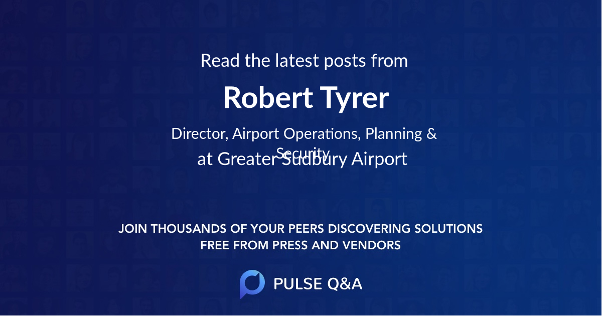 Robert Tyrer