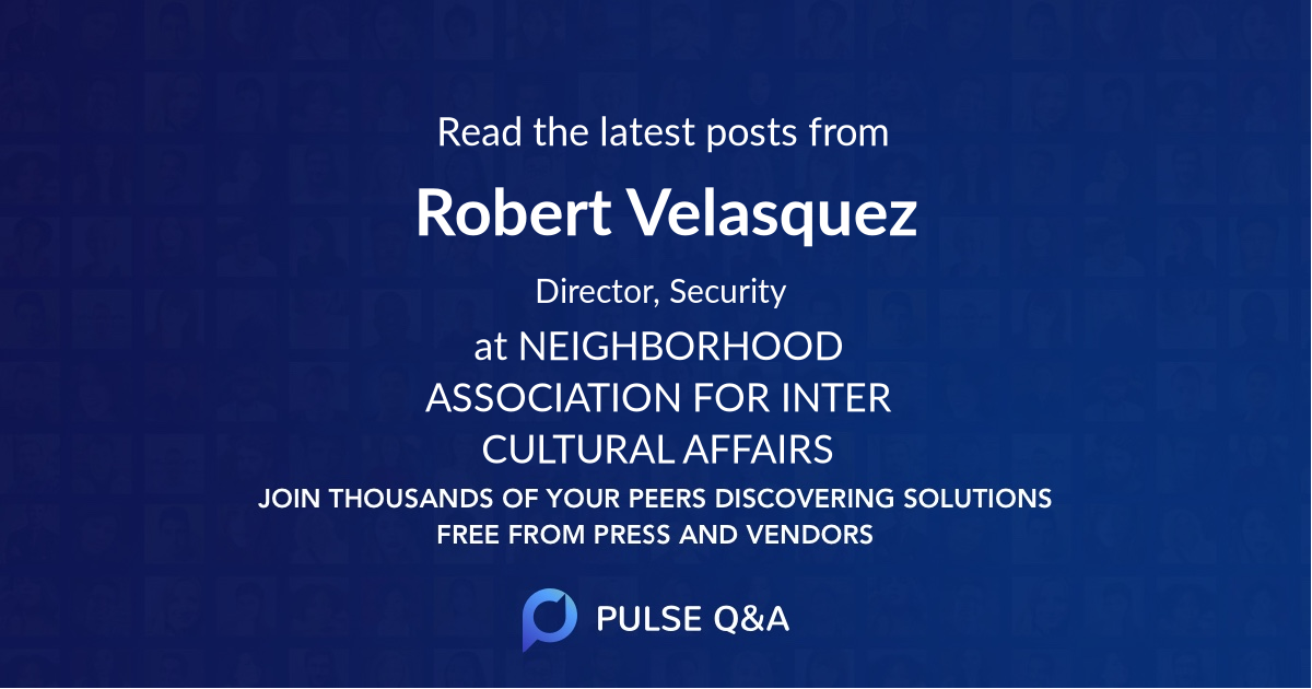 Robert Velasquez