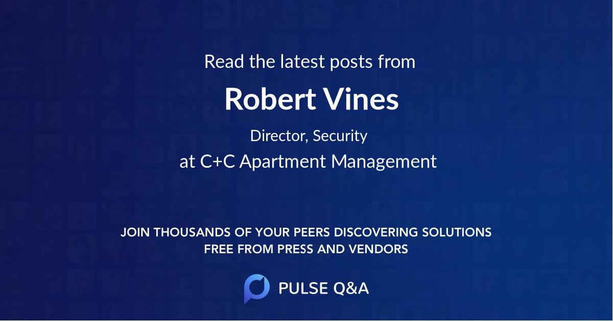 Robert Vines