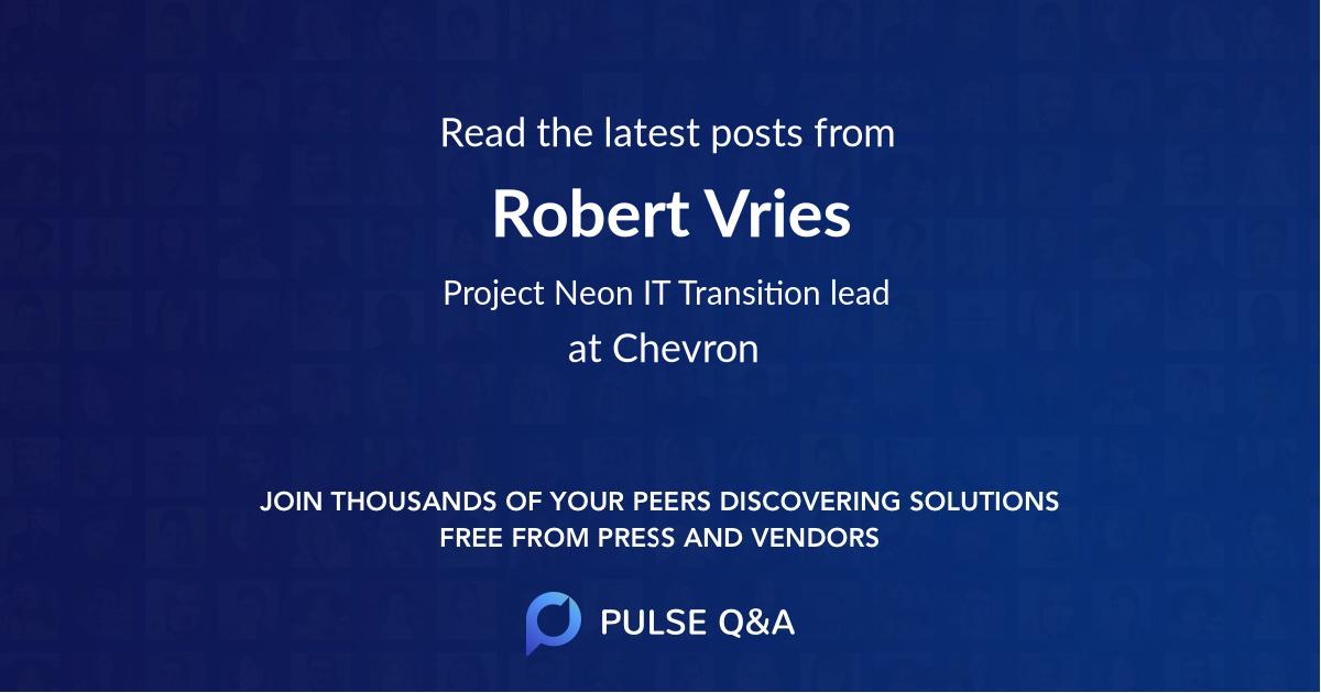 Robert Vries