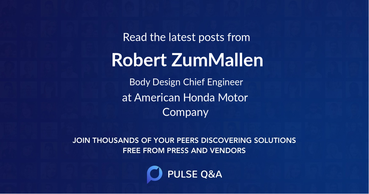 Robert ZumMallen