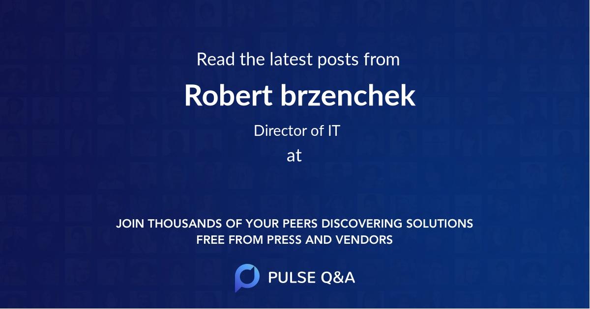 Robert brzenchek
