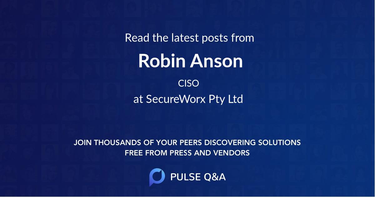 Robin Anson