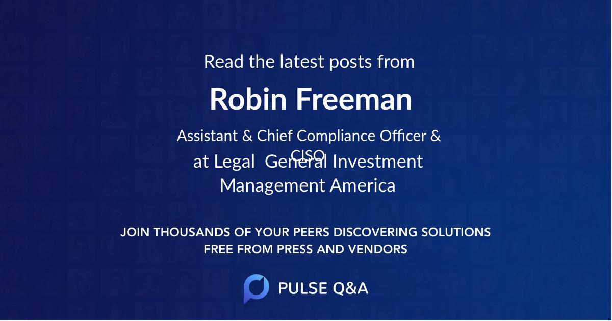 Robin Freeman