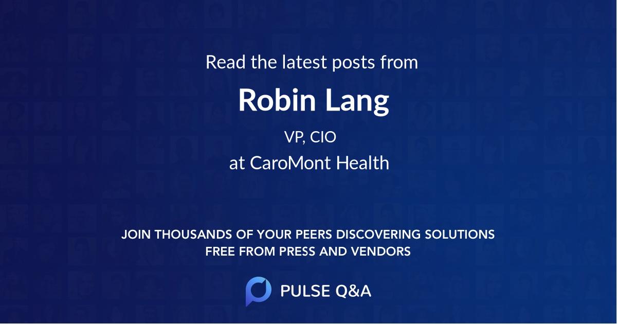 Robin Lang