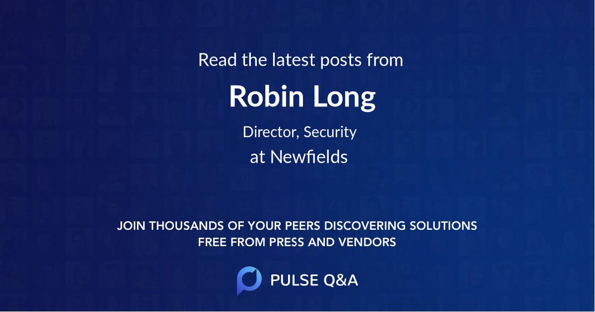 Robin Long