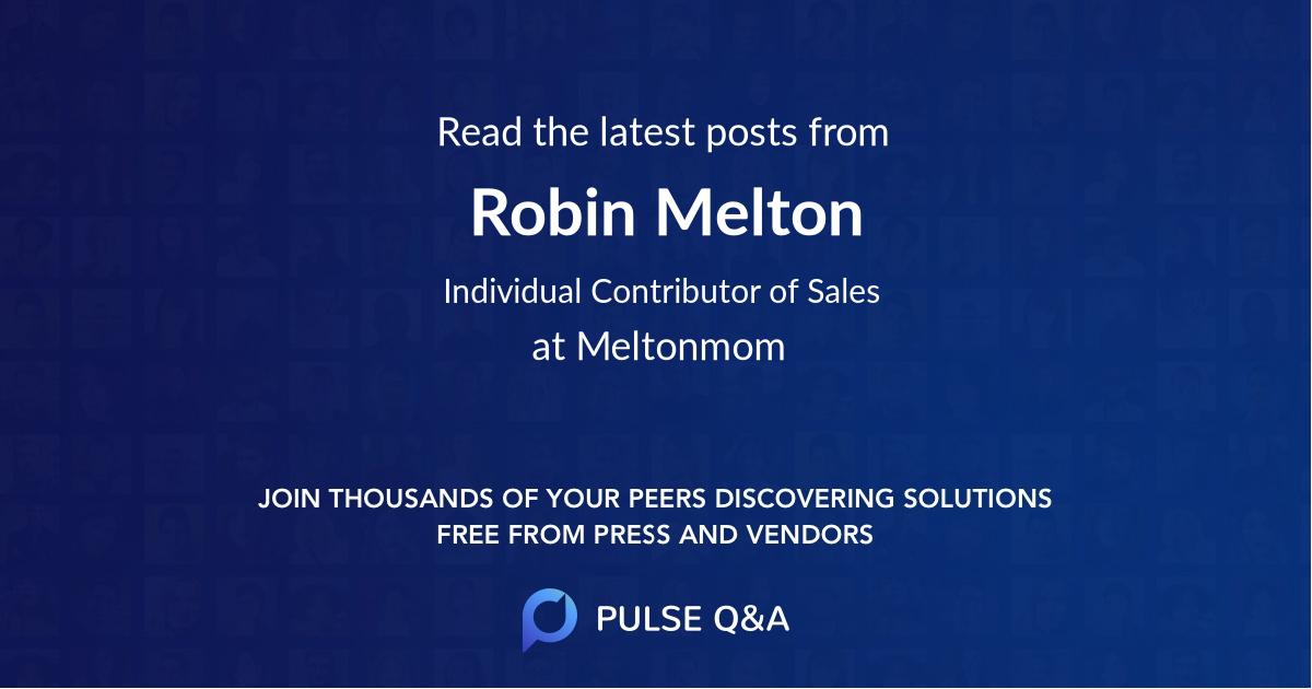 Robin Melton