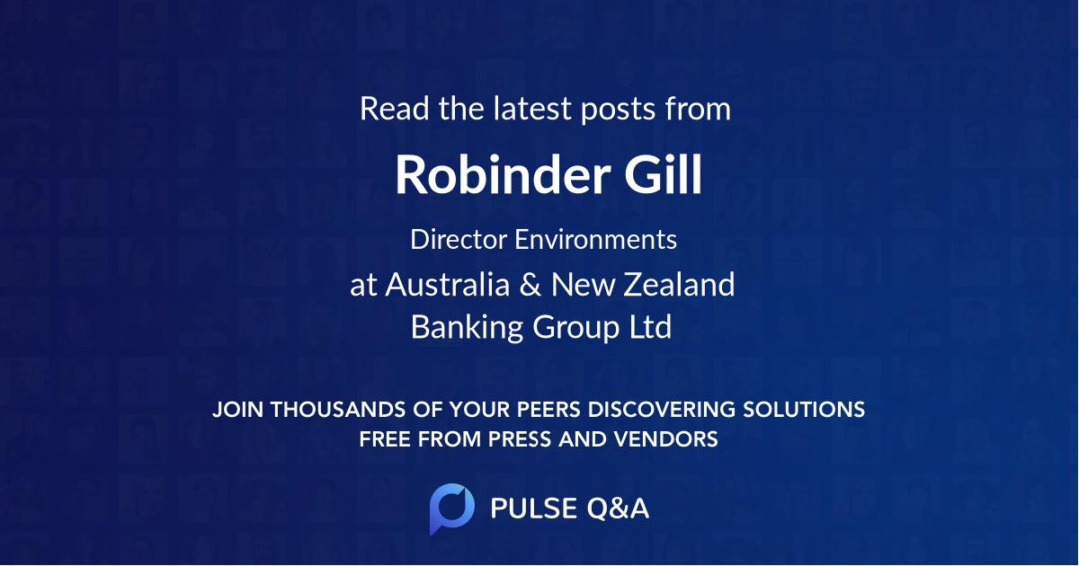 Robinder Gill