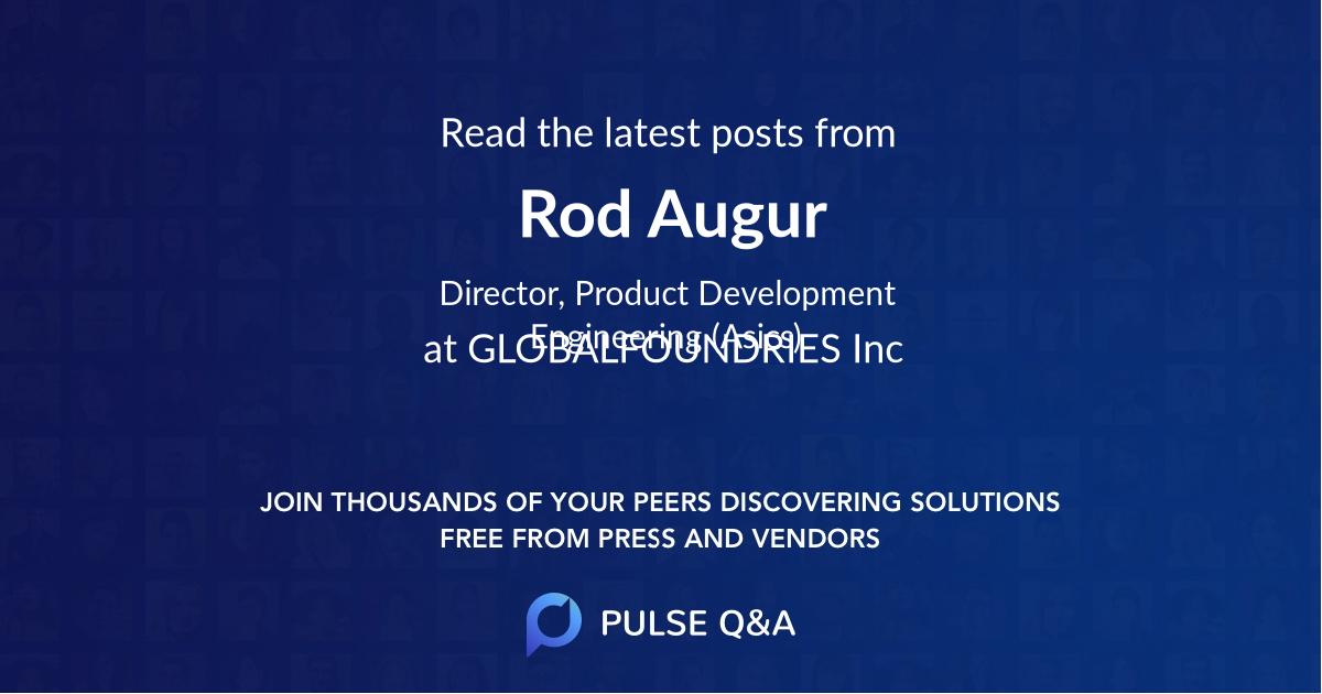 Rod Augur
