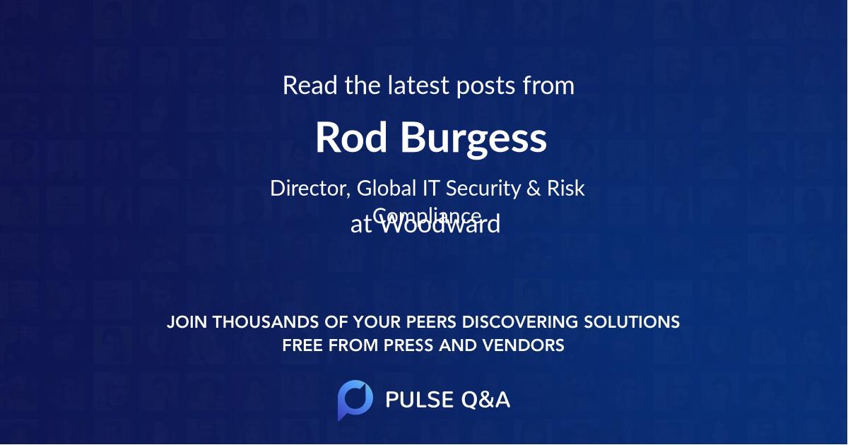 Rod Burgess