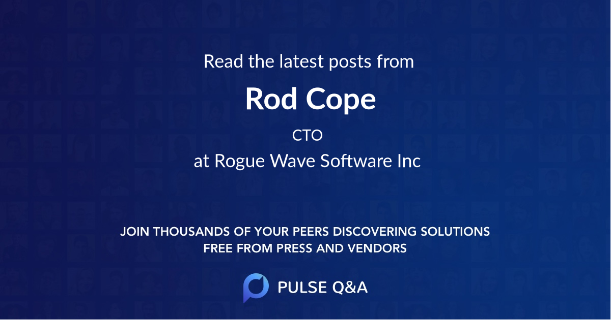 Rod Cope