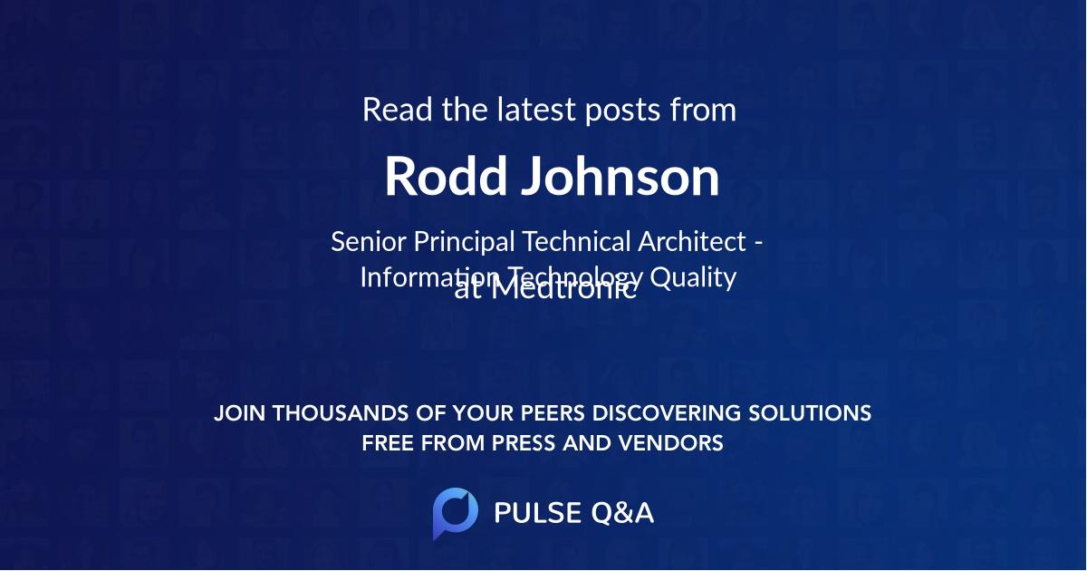 Rodd Johnson