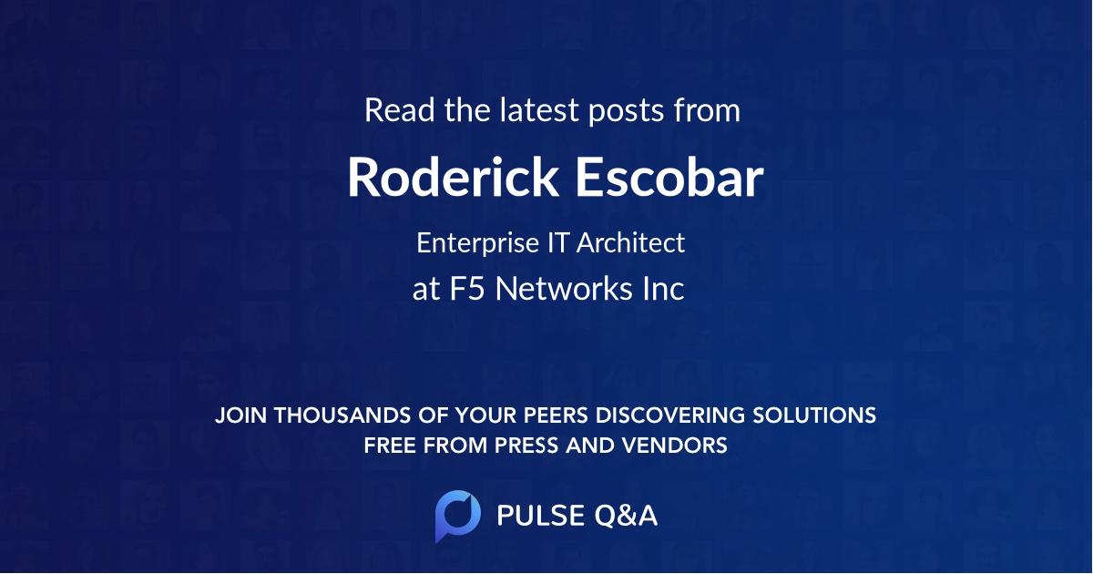 Roderick Escobar