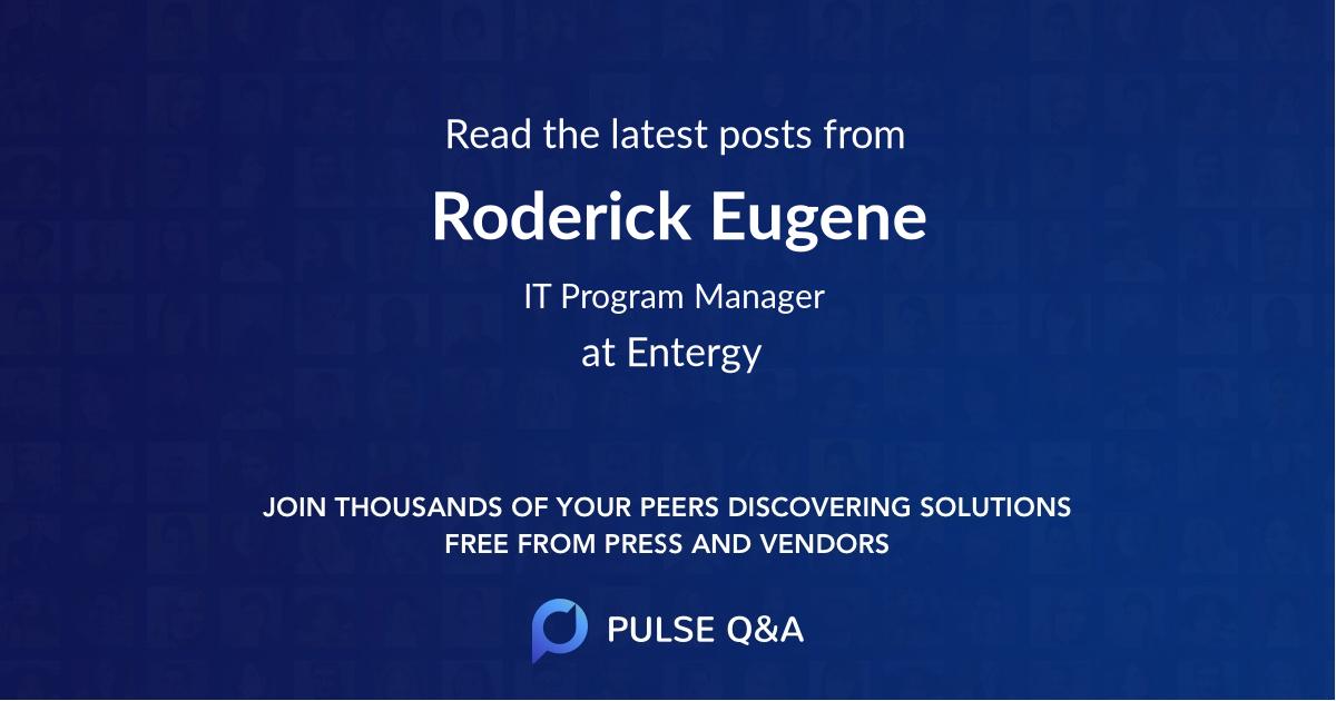 Roderick Eugene