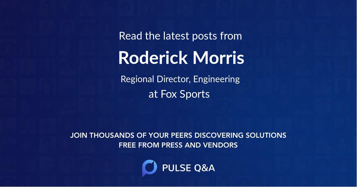 Roderick Morris