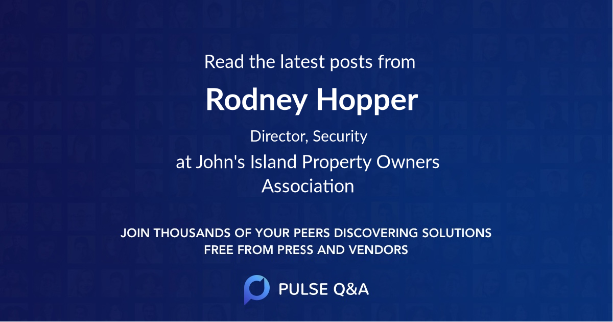 Rodney Hopper