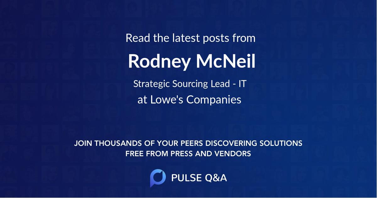 Rodney McNeil
