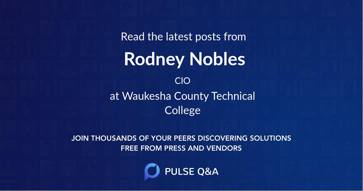 Rodney Nobles