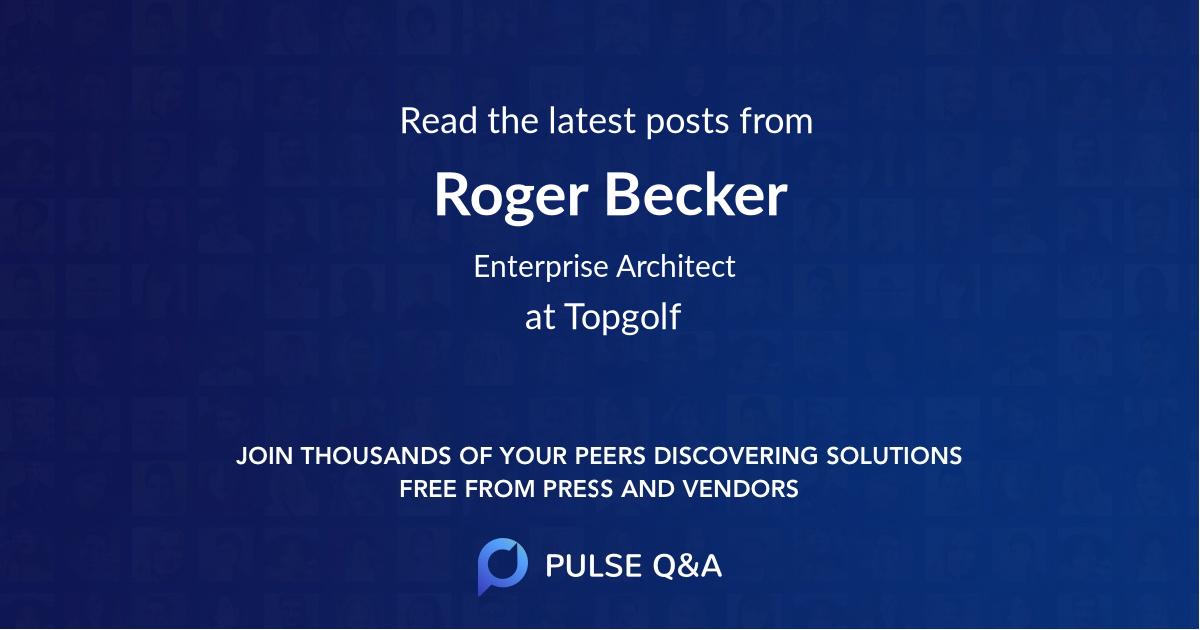 Roger Becker