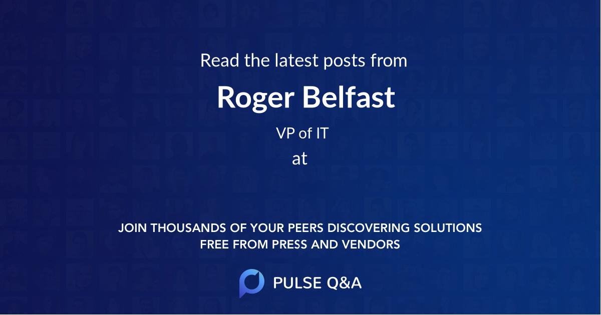 Roger Belfast