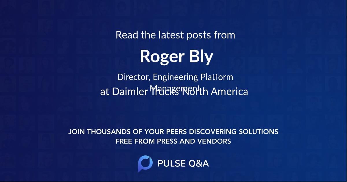 Roger Bly