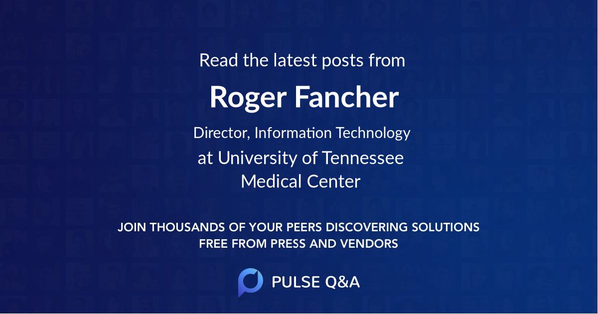 Roger Fancher
