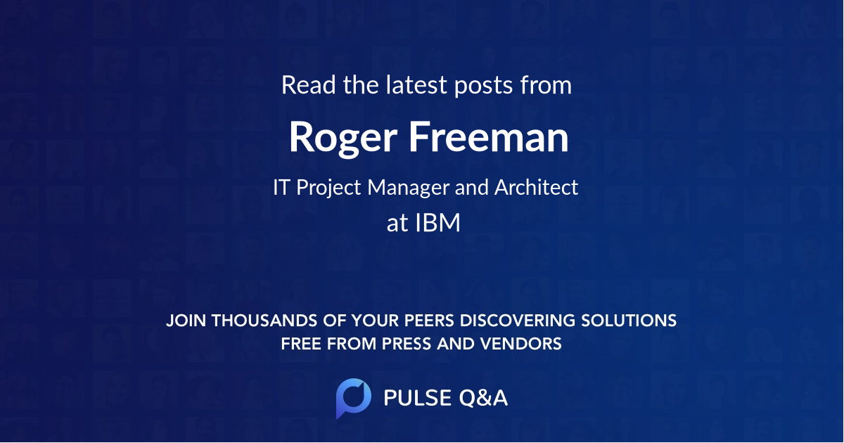 Roger Freeman