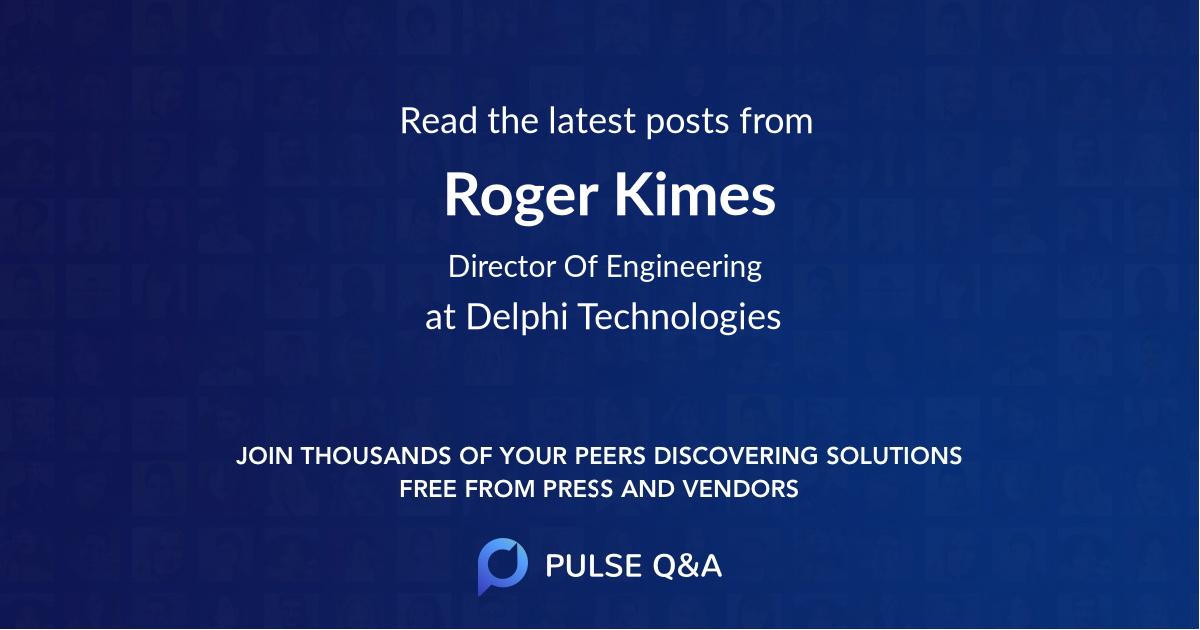 Roger Kimes