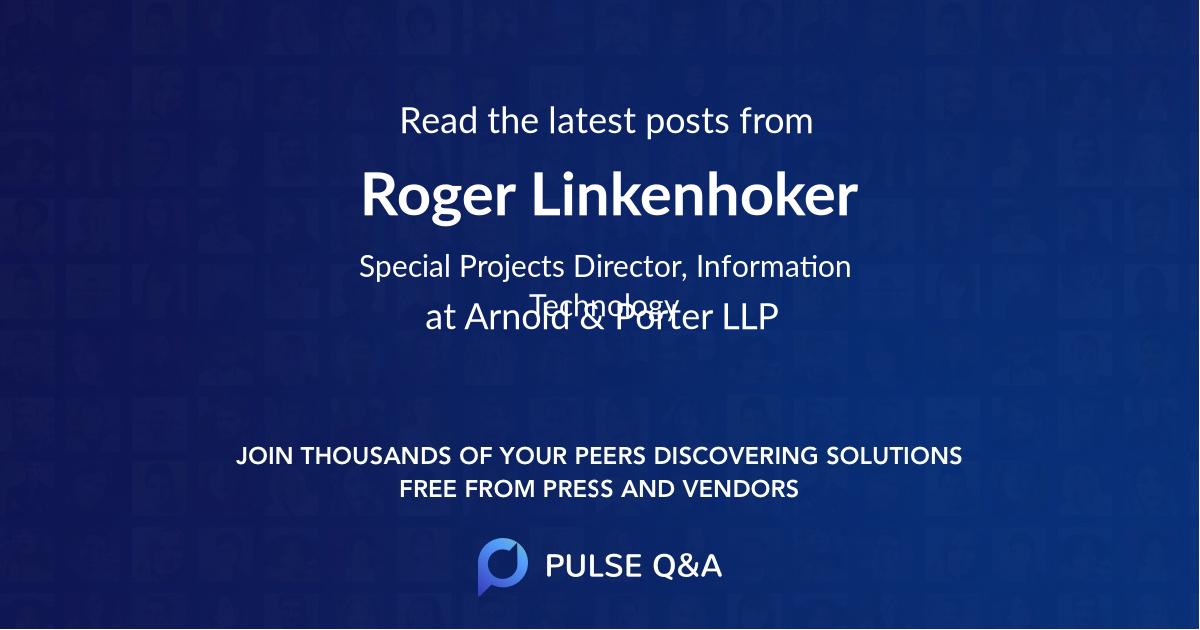 Roger Linkenhoker