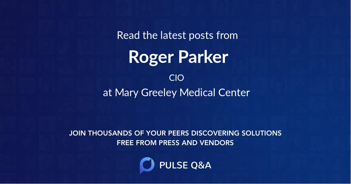 Roger Parker