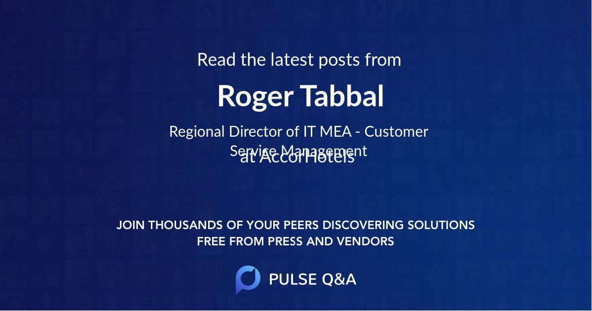Roger Tabbal