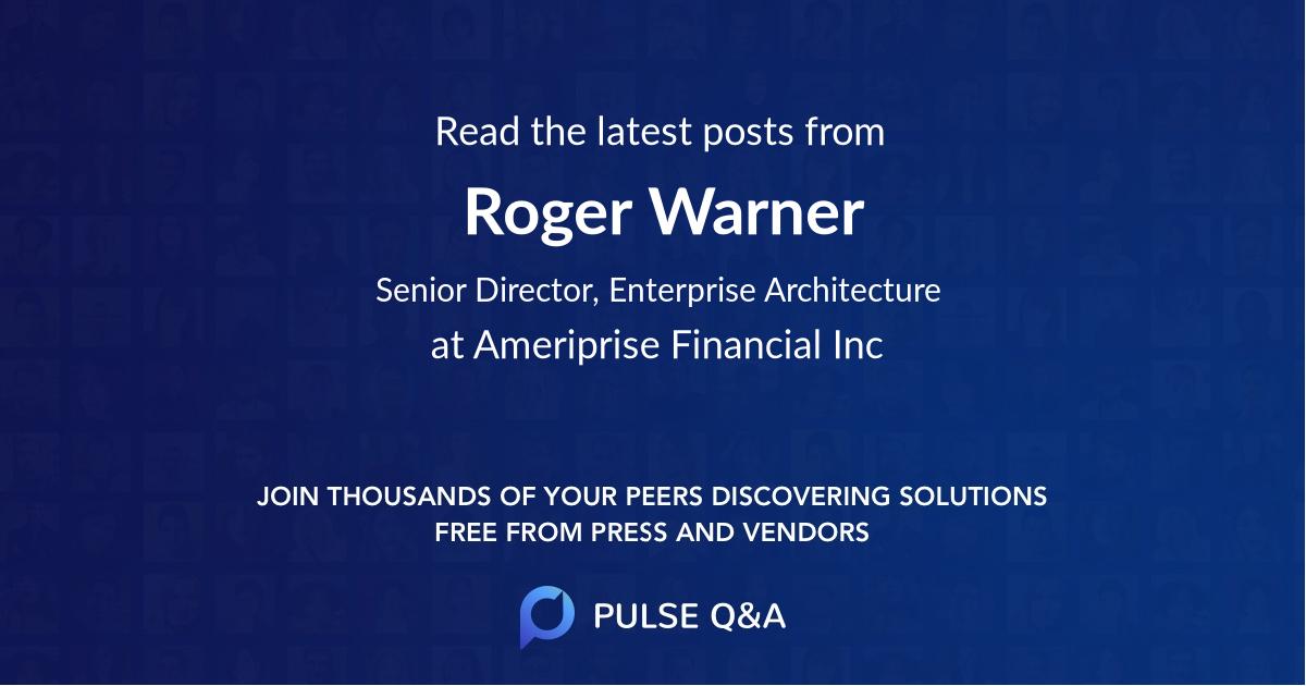 Roger Warner