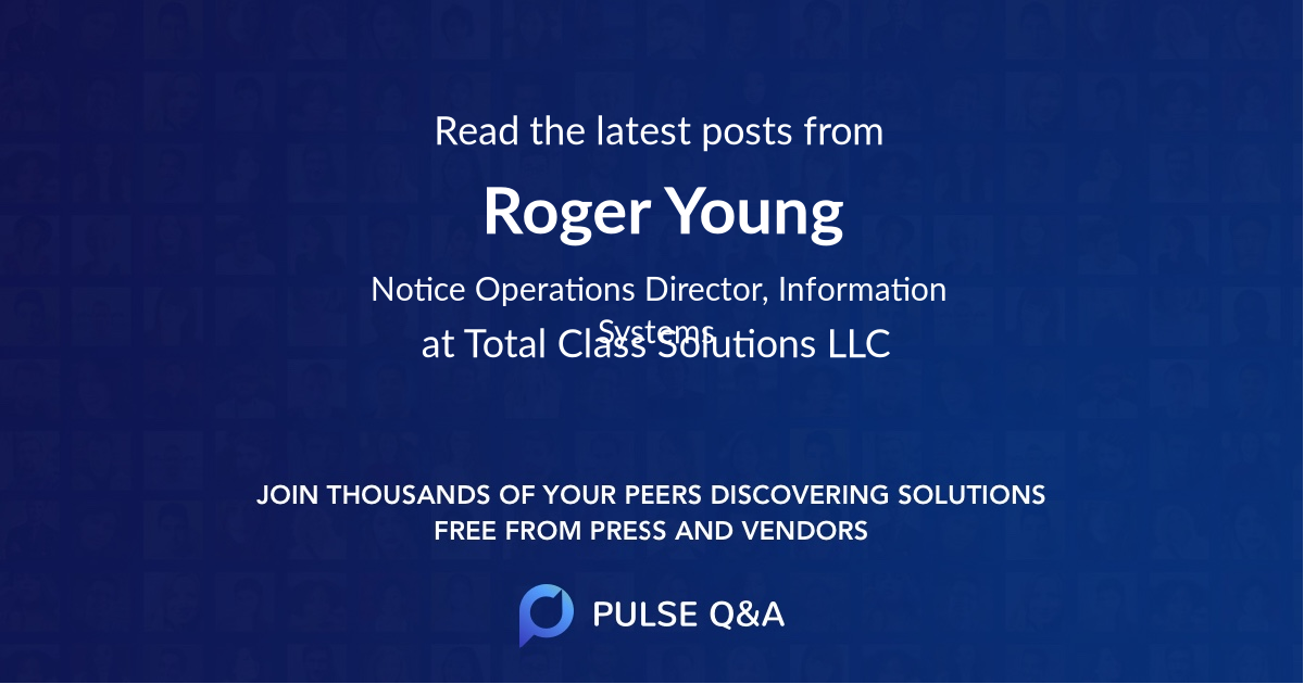 Roger Young
