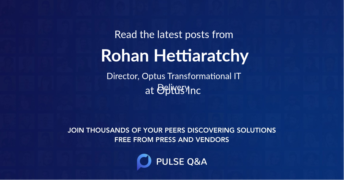 Rohan Hettiaratchy