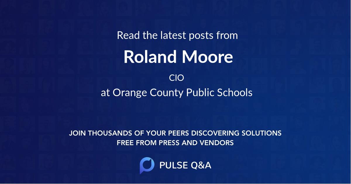 Roland Moore