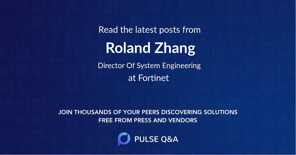 Roland Zhang