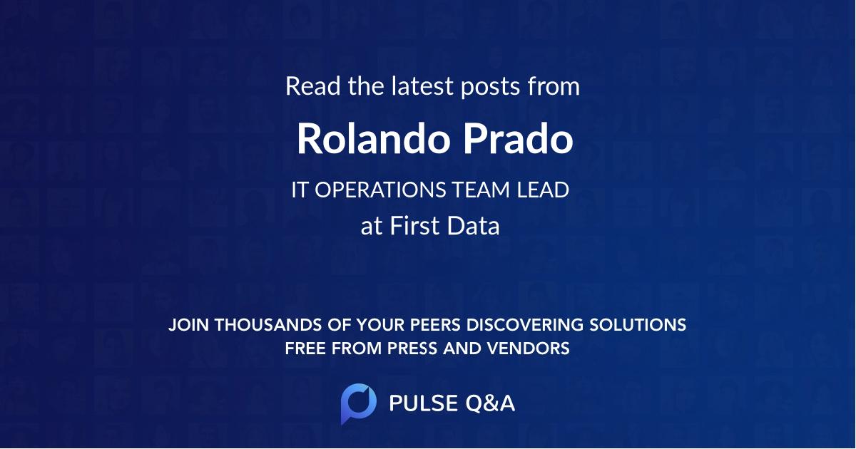 Rolando Prado