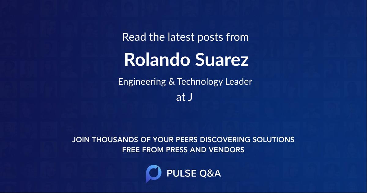 Rolando Suarez