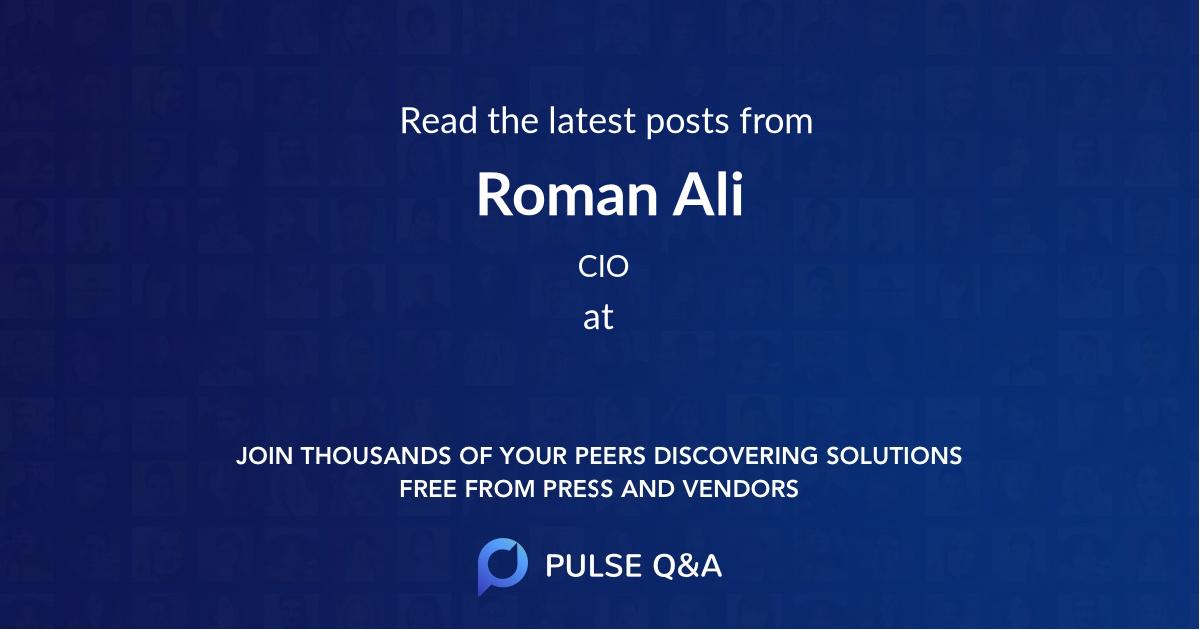 Roman Ali