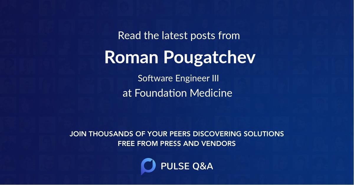 Roman Pougatchev