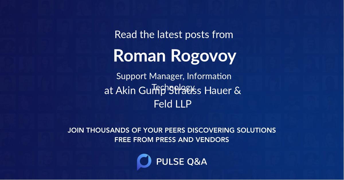 Roman Rogovoy